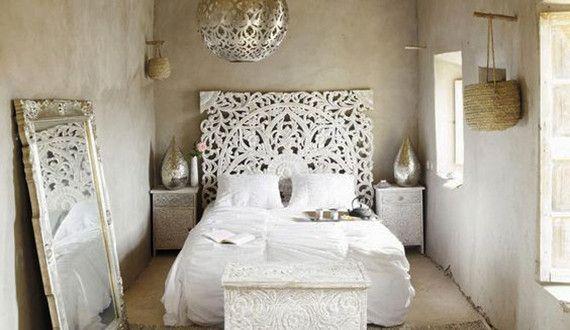 Schlafzimmer Ideen Für Orientalisches Schlafzimmer  Design Und Für Bett Kopfteil Selber Machen   FresHouse