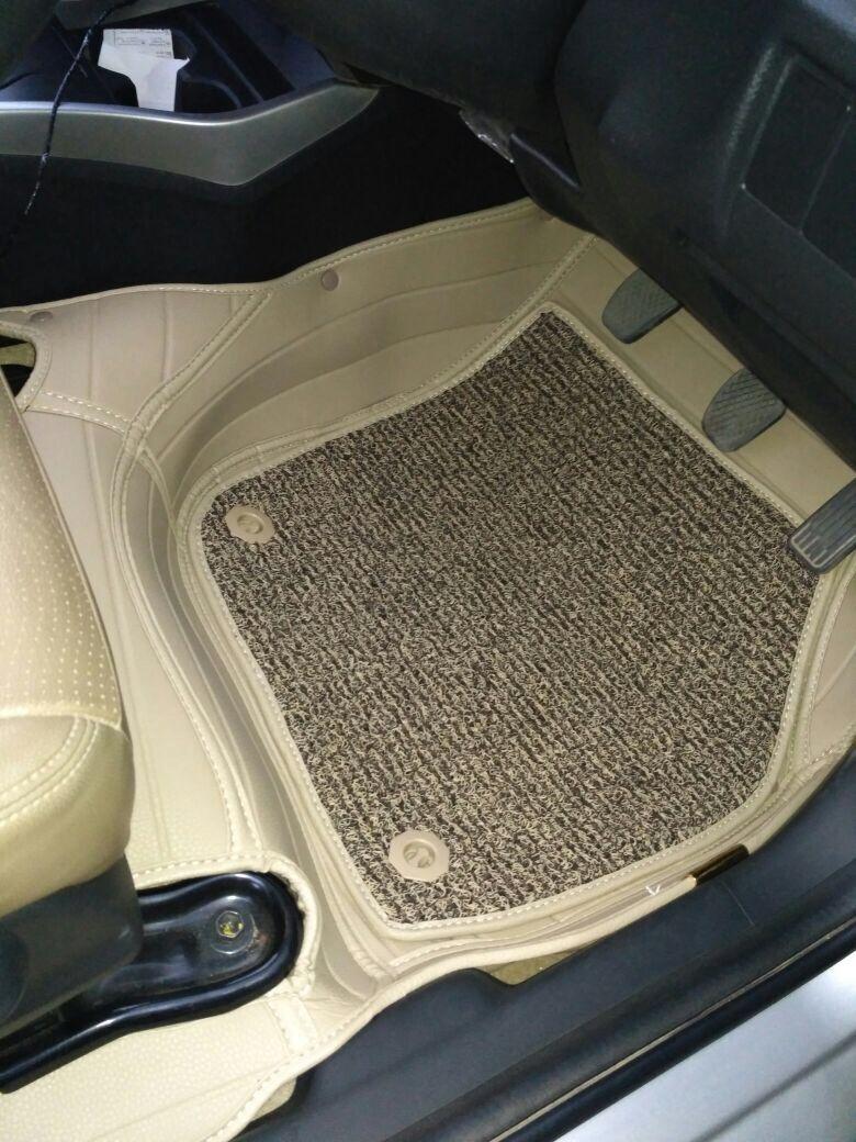 Matle Autocare Honda city 2018 car mats in Beige color