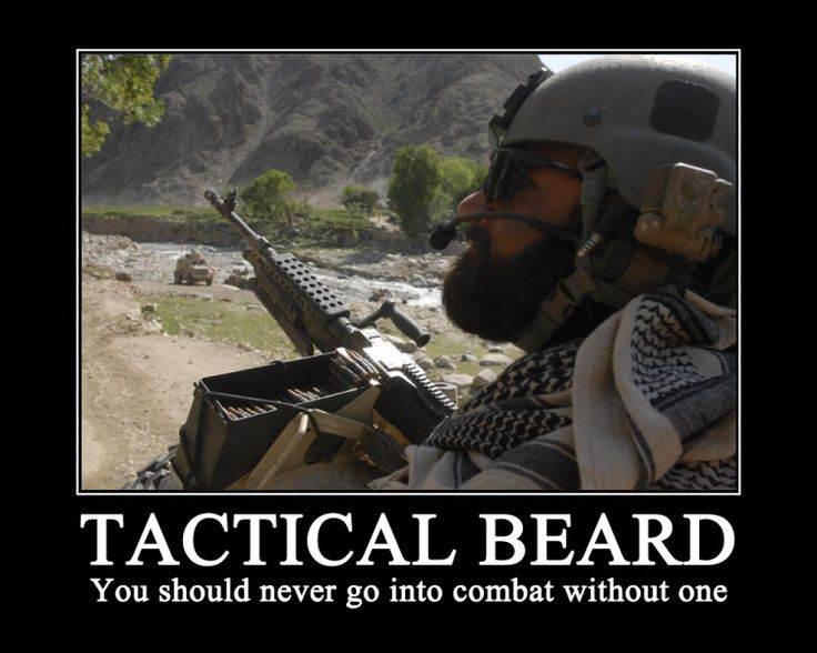 Image result for operator beard: no license