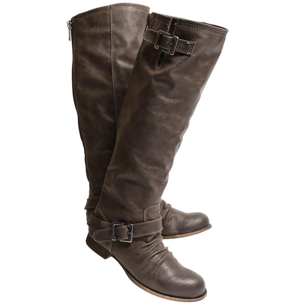 SoftMoc Women's BRENNA grey tall riding boots brenna gry   All I ...