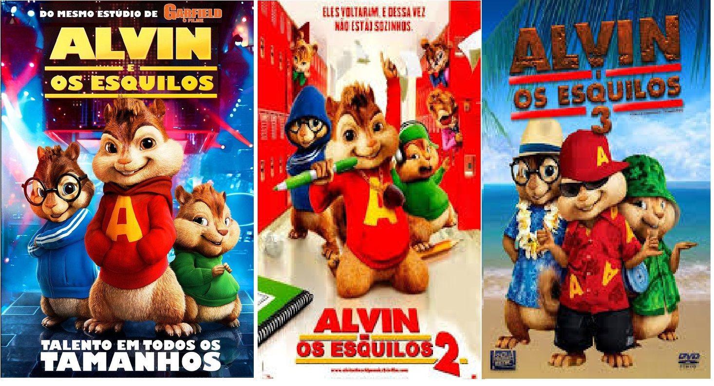 Alvin E Os Esquilos Com Imagens Alvin E Os Esquilos Esquilo