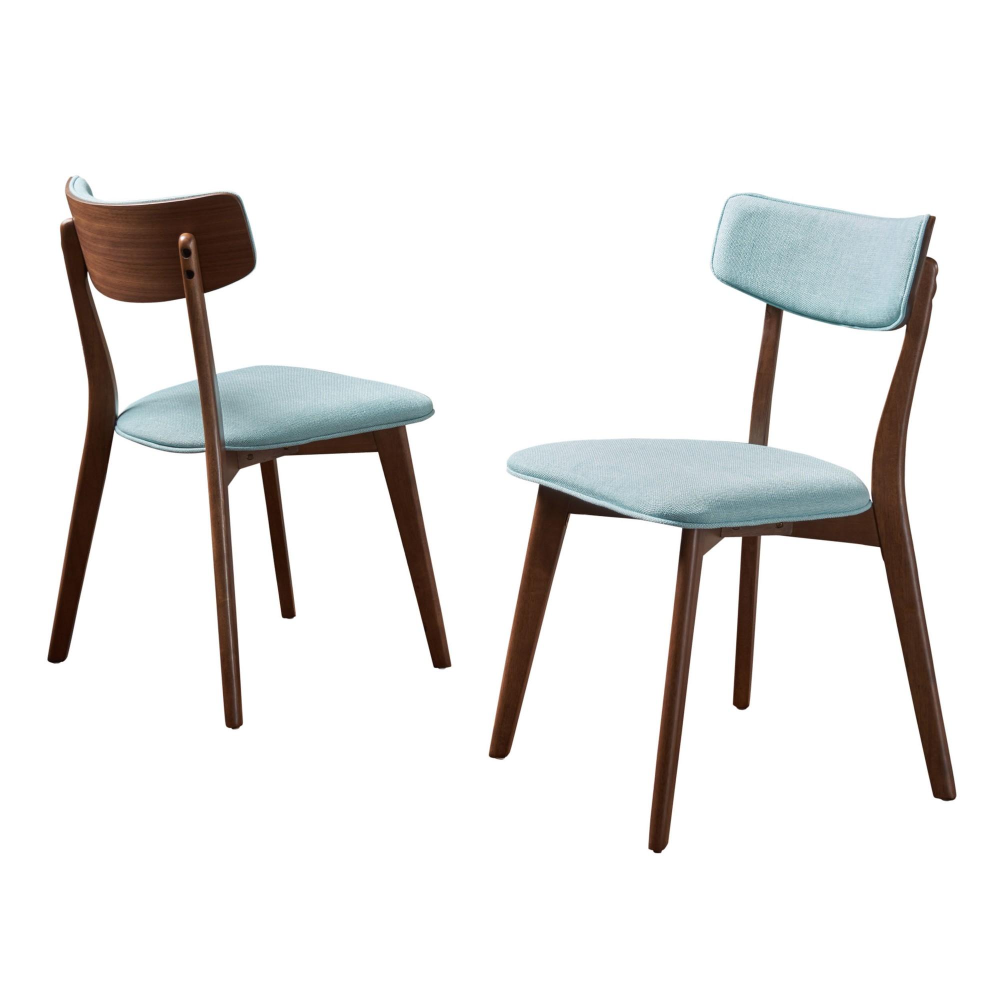 chazz mid century dining chair gray set of 2 christopher rh pinterest com