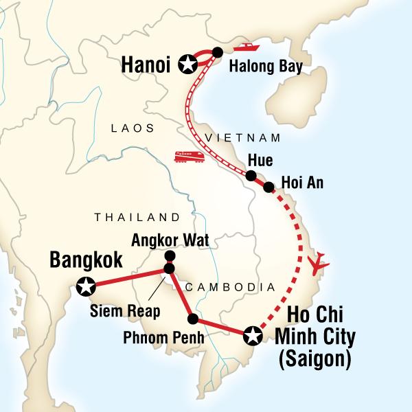 Amazon De 24 X 36 Poster Cia Karte Vietnam Laos Kambodscha