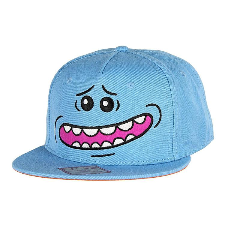 Officially Licensed Rick and Morty Big Faces Character Snapback Baseball Cap
