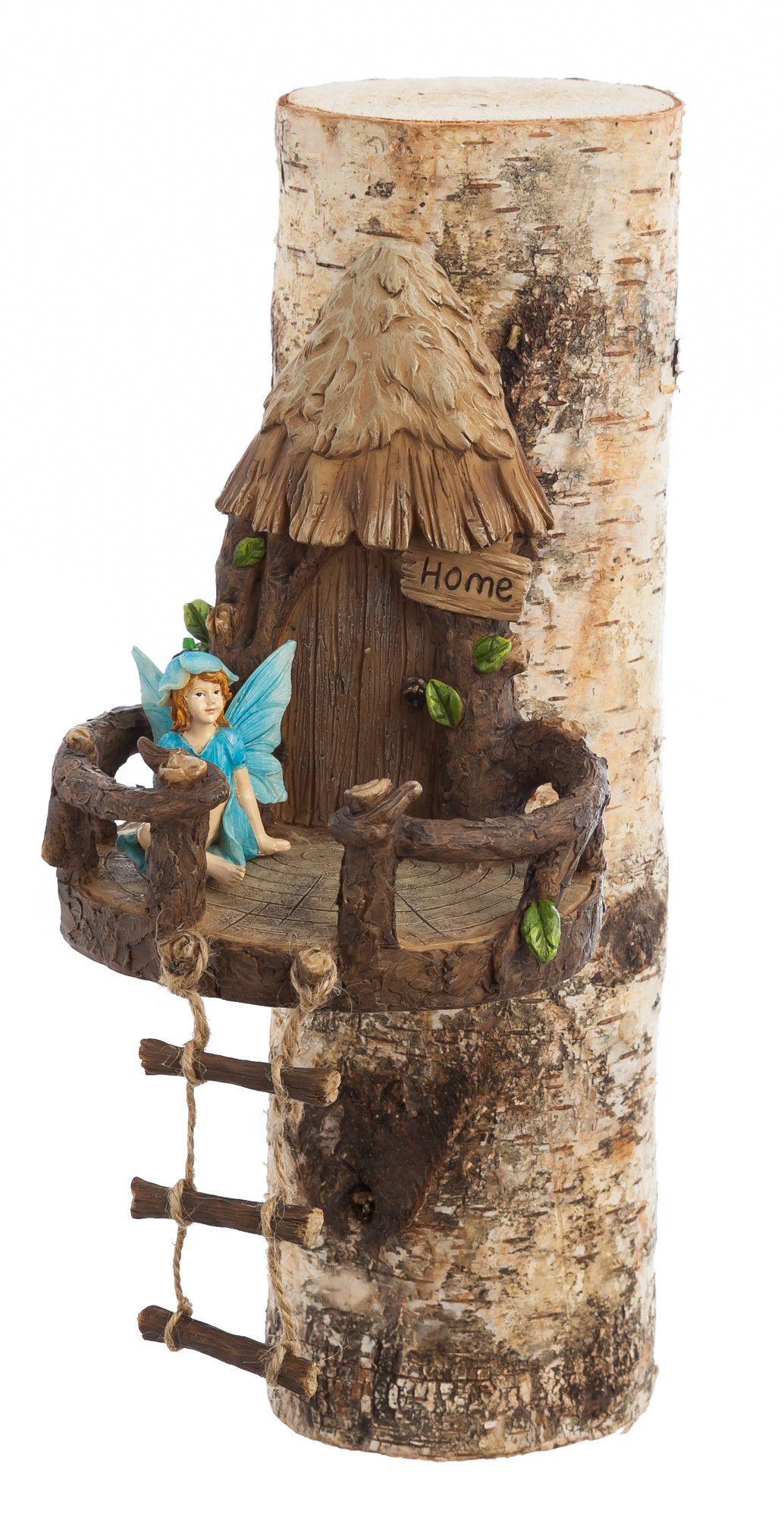 Garden Gnomes On Sale: Woodland Tree Décor Fairy Garden