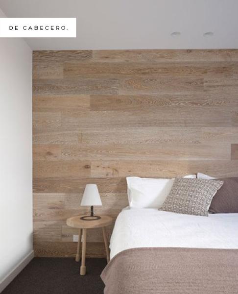 inspiracin paredes de madera decorar tu casa es facilisimocom - Decorar Paredes Con Madera