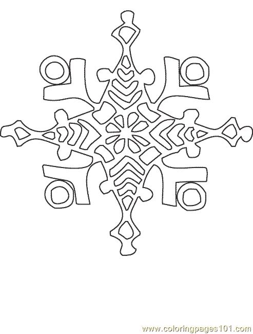 Snowflake   coloring pages   Pinterest   Nieve, Imprimibles and ...