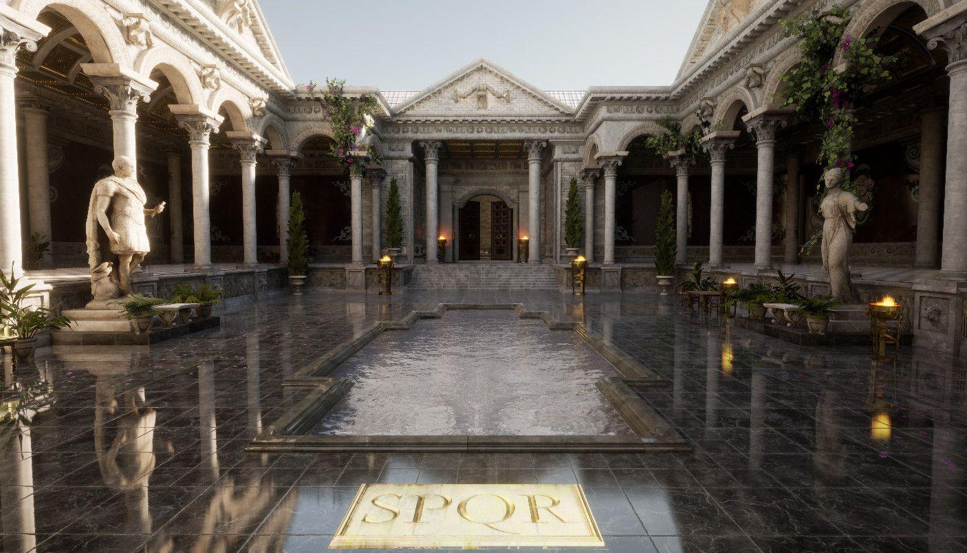 Roman Courtyard Jayson Kassis