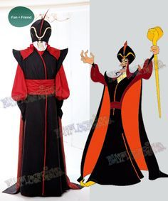 fanplusfriend - Aladdin (Disney) Cosplay Jafar Costume Set $300.00 (/ : adult jafar costume  - Germanpascual.Com