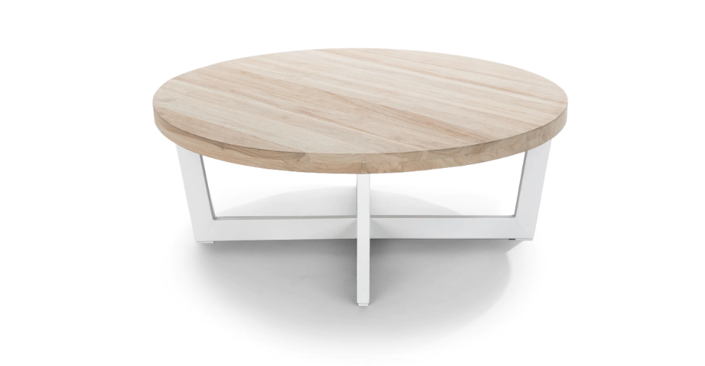 Toba Driftwood Gray Coffee in 2020 | Teak coffee table ...
