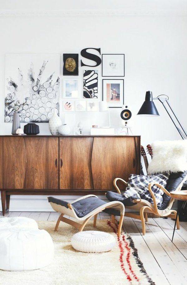 Skandinavische Möbel verleihen jedem Ambiente ein modernes Flair - skandinavisch wohnen wohnzimmer