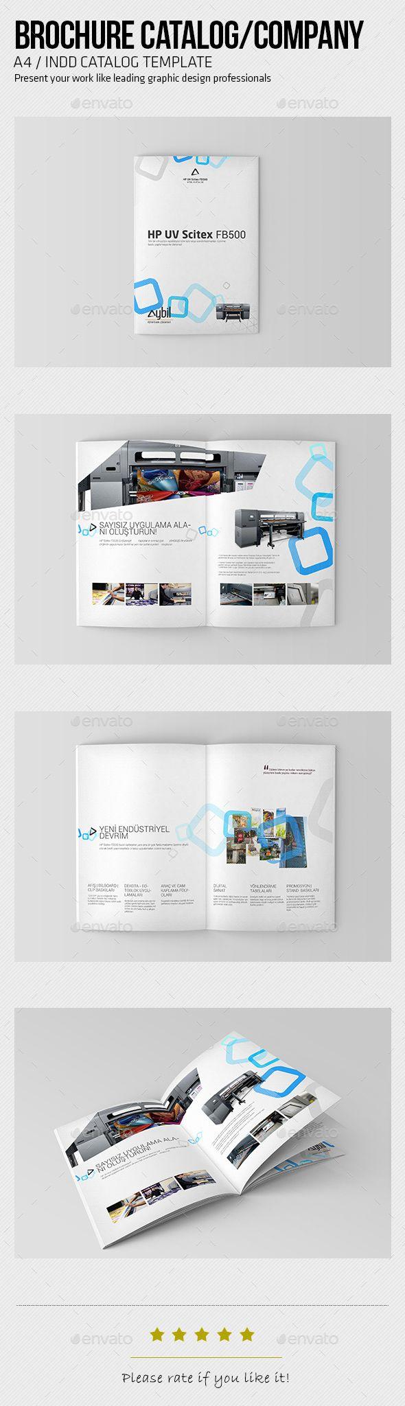 Brochure | Pinterest | Brochures, Brochure template and Indesign ...