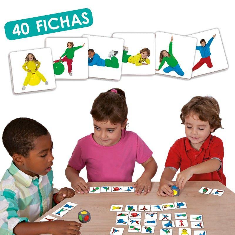 Juego Educativo Infantil Busca Los Colores Dragonfly Kids Juegos Educativos Yoga Para Niños Juegos
