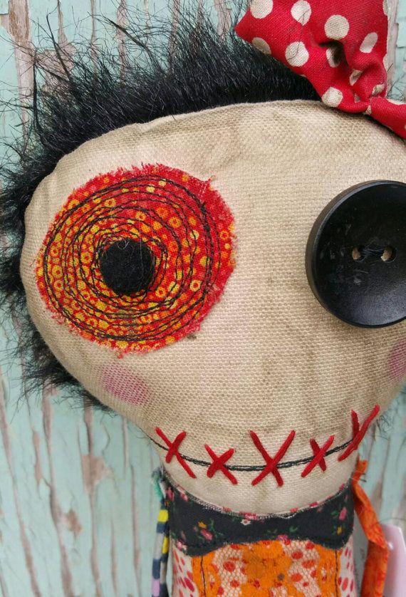 Lisa Handmade Art Doll
