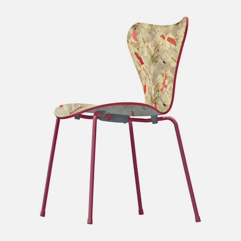 Gallery   BIG, Jean Nouvel, And 5 Others Reinterpret Arne Jacobsenu0027s Series  7 Chair   3