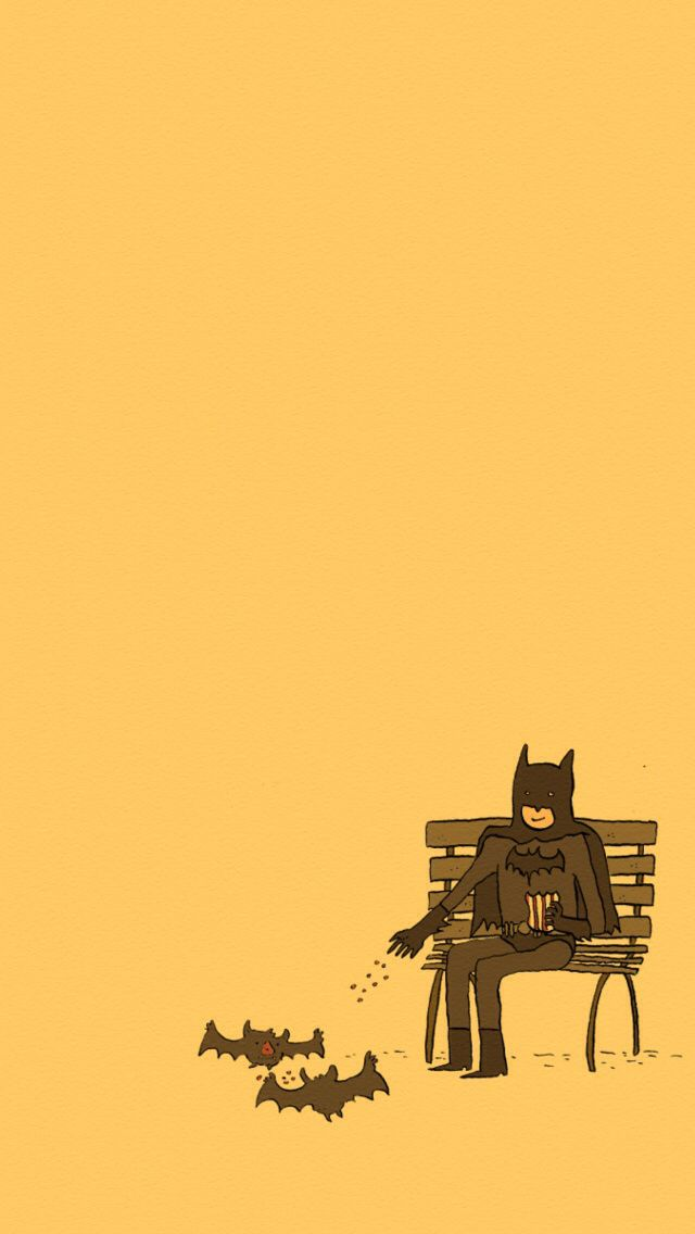 Batman feeder iphone 5 wallpaper Fondos para fotomontaje