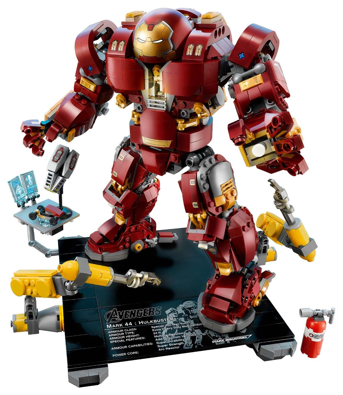 LEGO Marvel Super Heroes Hulkbuster: Ultron Edition! | Marvel Comics ...