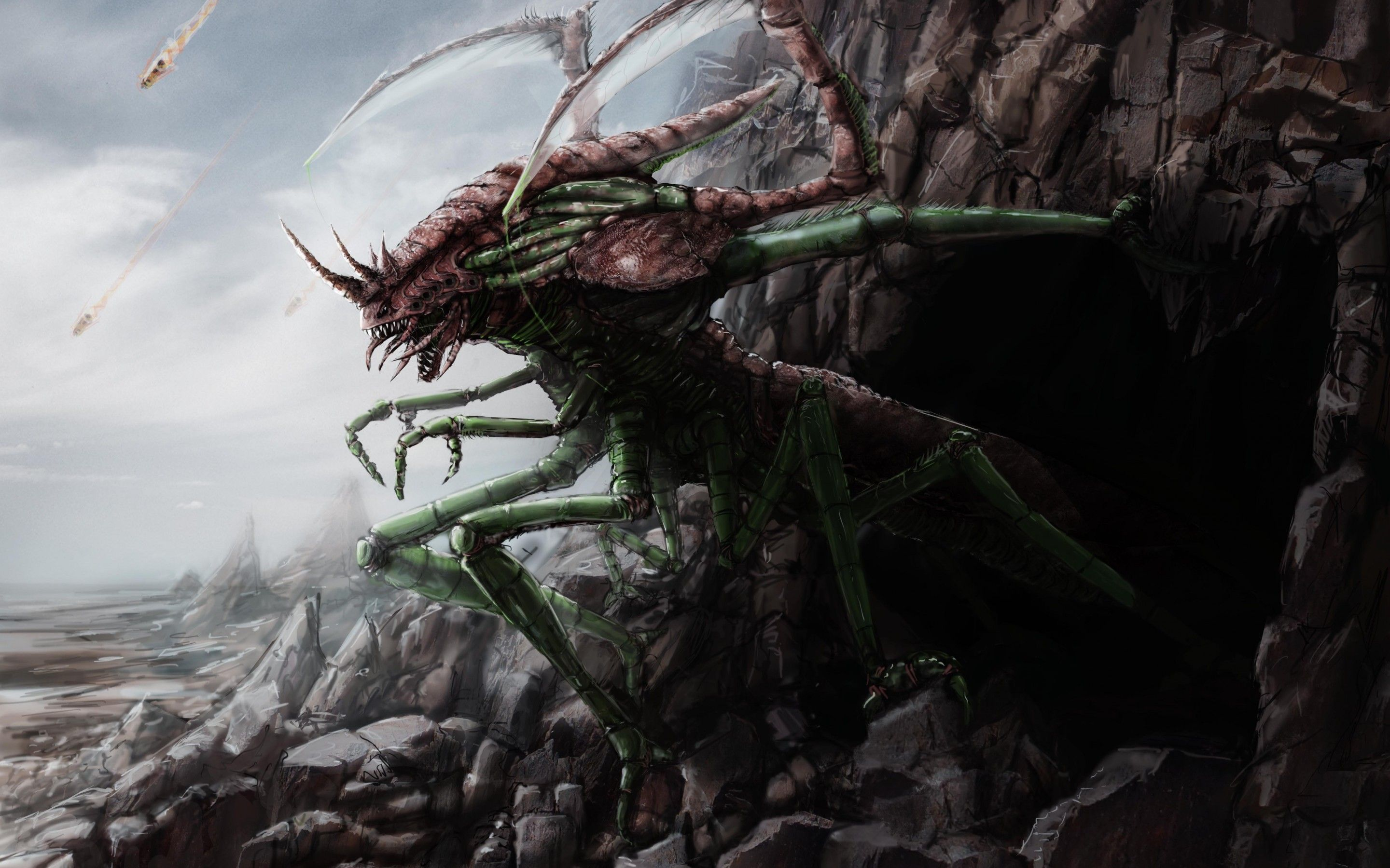 39+ Insect monsters ideas
