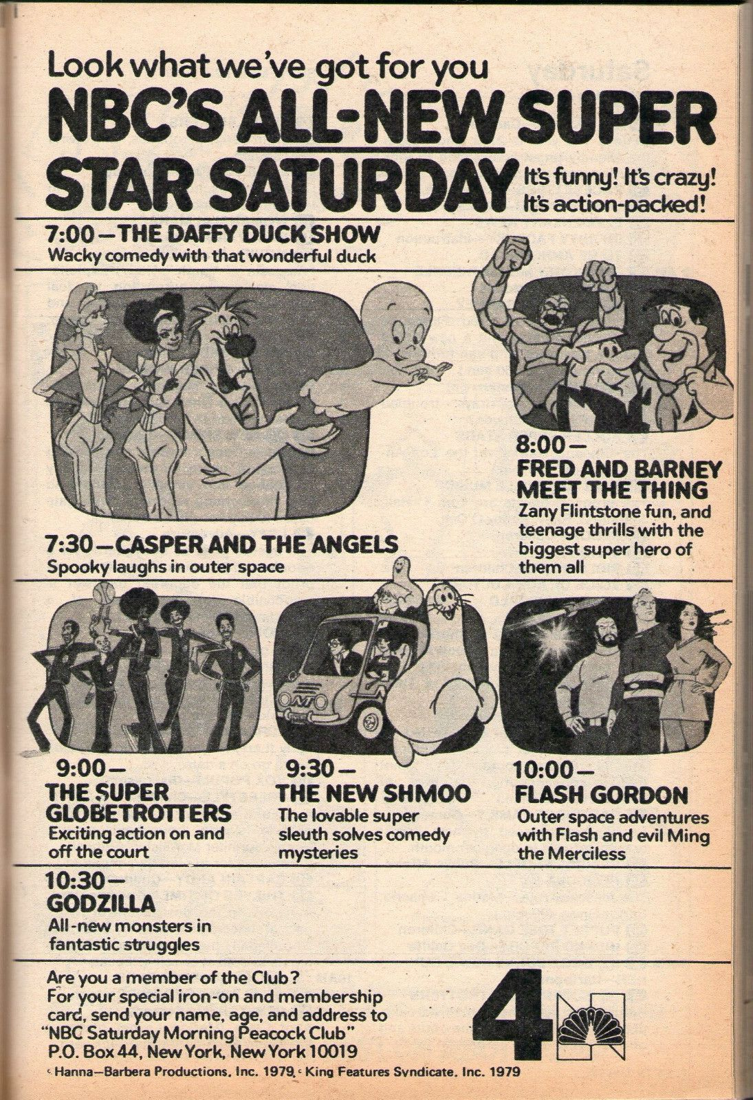 1979 ad for the NBC Saay morning cartoon lineup | What's on TV ...