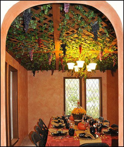 Tuscan Decor Vinyard Tuscany Style Grape Decor Tuscany