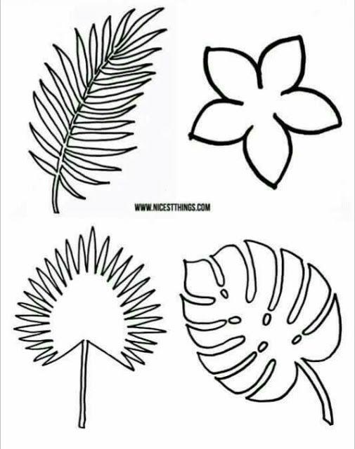 más y más manualidades: Como hacer hojas de helecho en papel ...