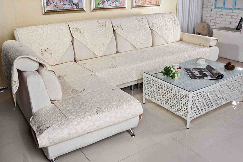 Slipcover For L Shaped Sofa Sectional Sofa Slipcovers Sofa Covers L Shaped Sofa
