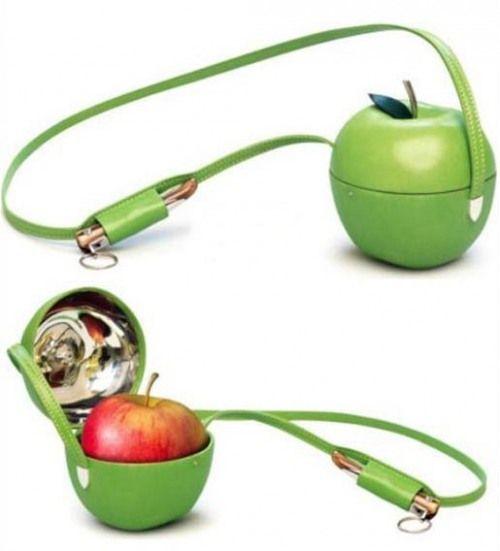 Hermes apple holder... too cute