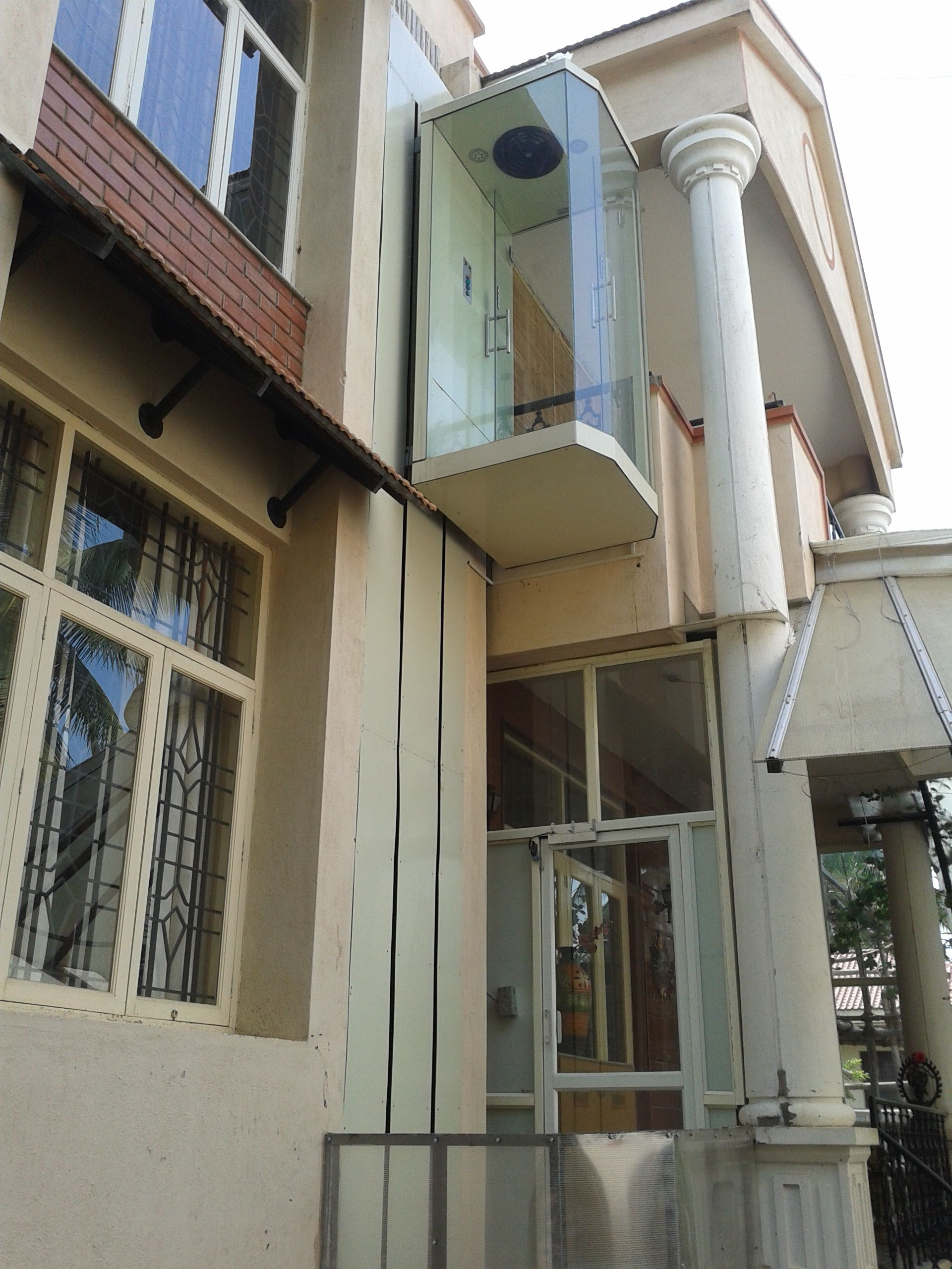 Residential Exterior Lifts Elevator