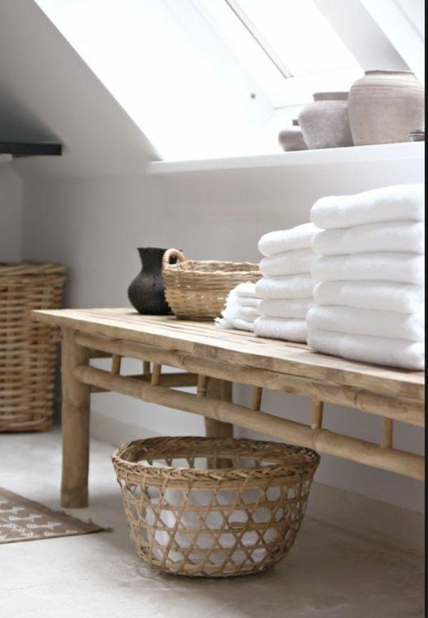 Bambus Badmöbel Sorgen Für Eine Zen Atmosphäre Im Modernen Badezimmer