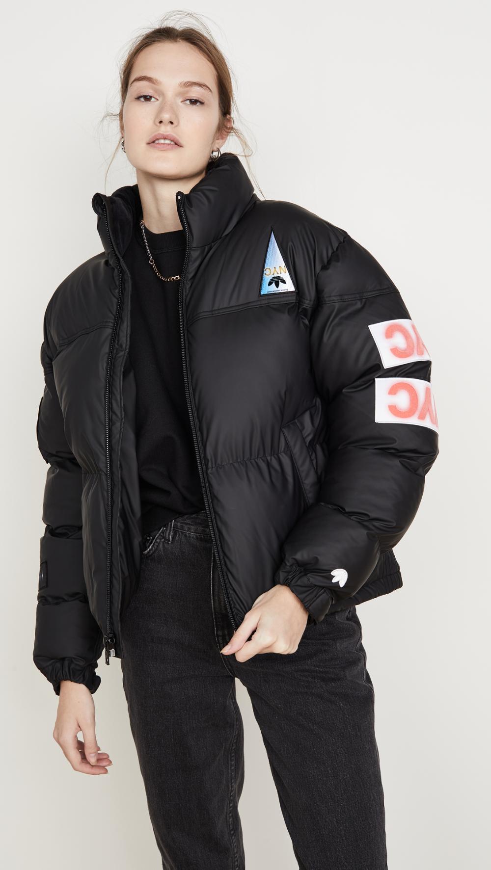 Adidas Originals By Alexander Wang Flex2club Puffer Jacket Fall Fashion Jackets Puffer Jackets Jackets [ 1773 x 1000 Pixel ]