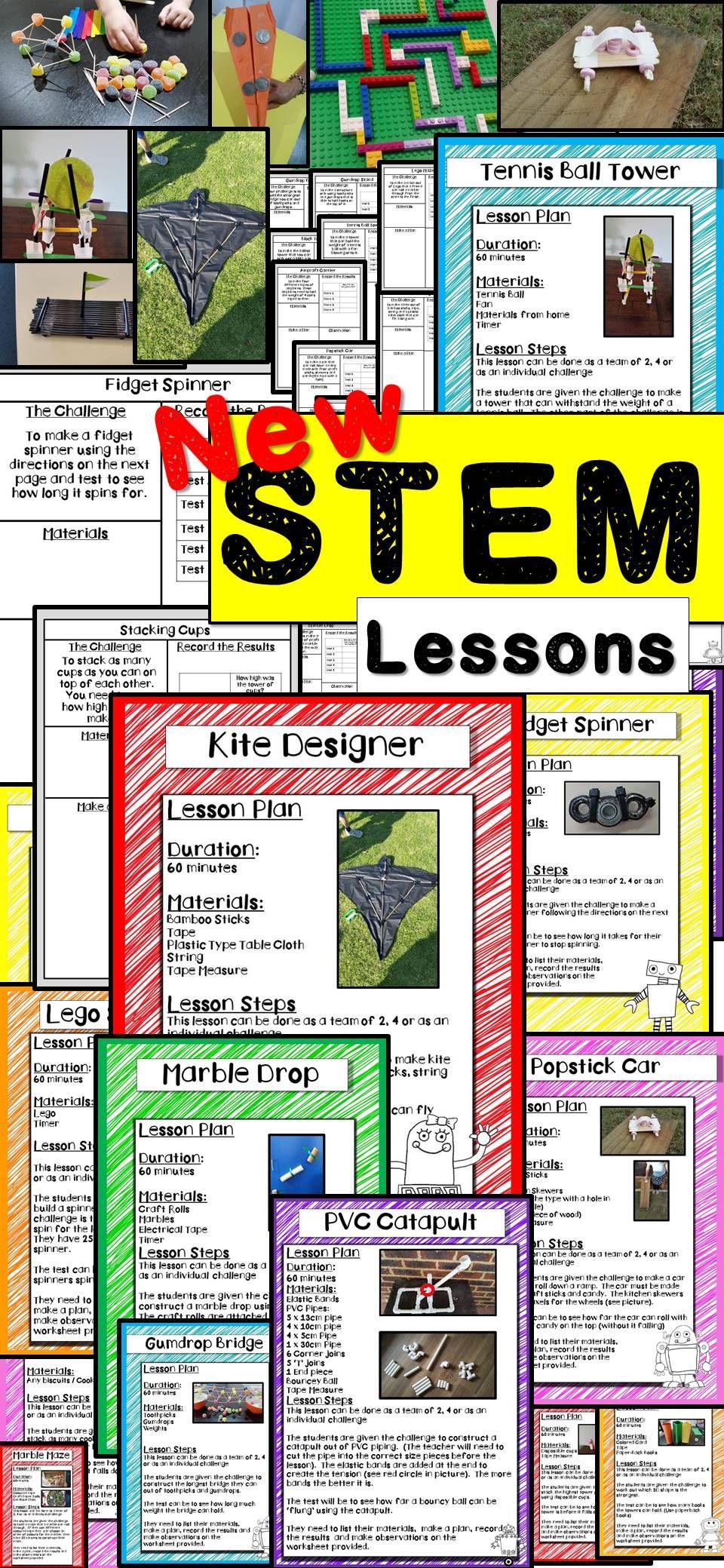 STEM Activities (20 Challenges) Pack 2