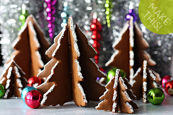 How To Make Diy 3d Gingerbread Christmas Trees Recipes And Food