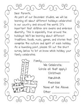 Holiday LetterSurvey Freebie  Yule Ideas    Holidays