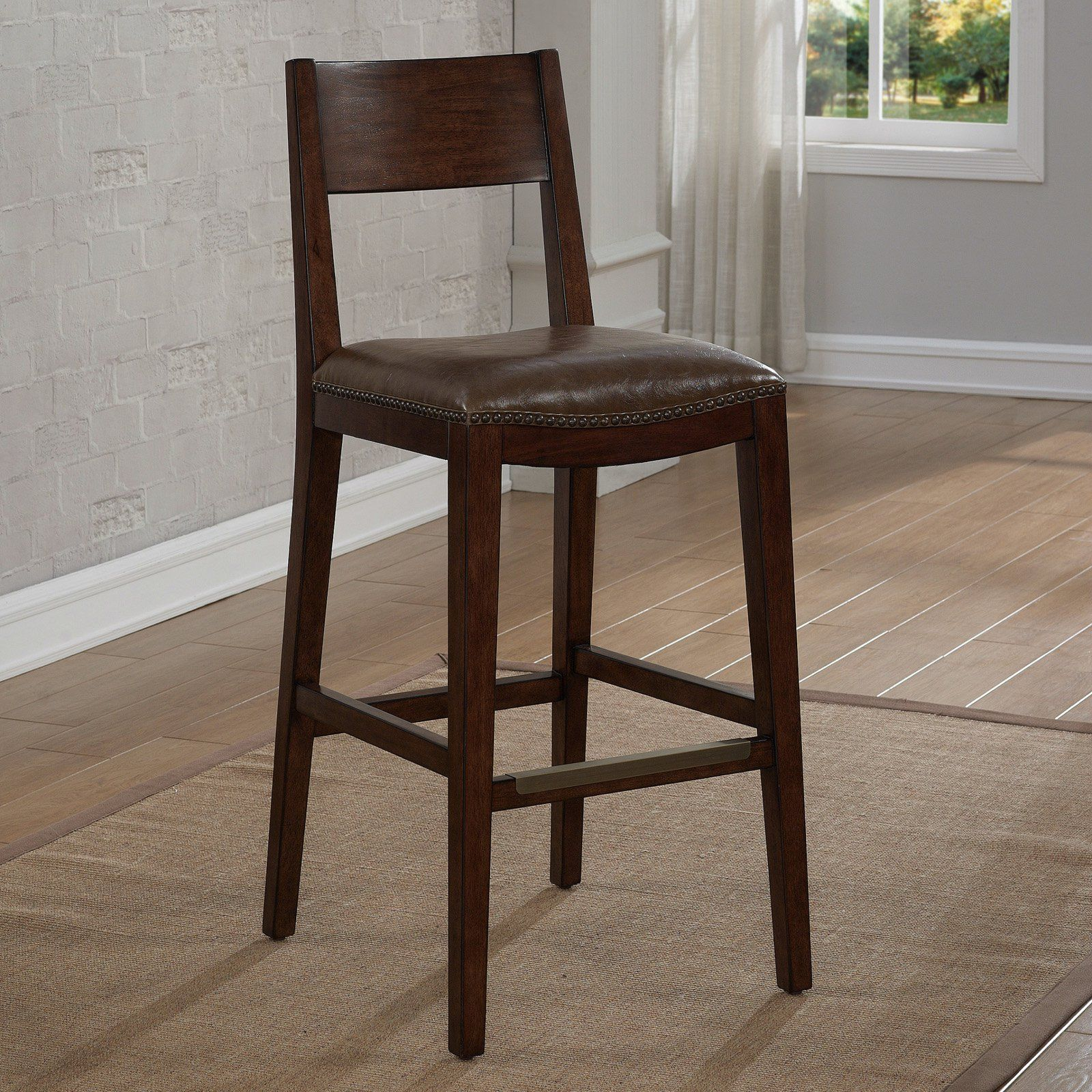 American Heritage Ralston Bar Height Stool | from hayneedle.com