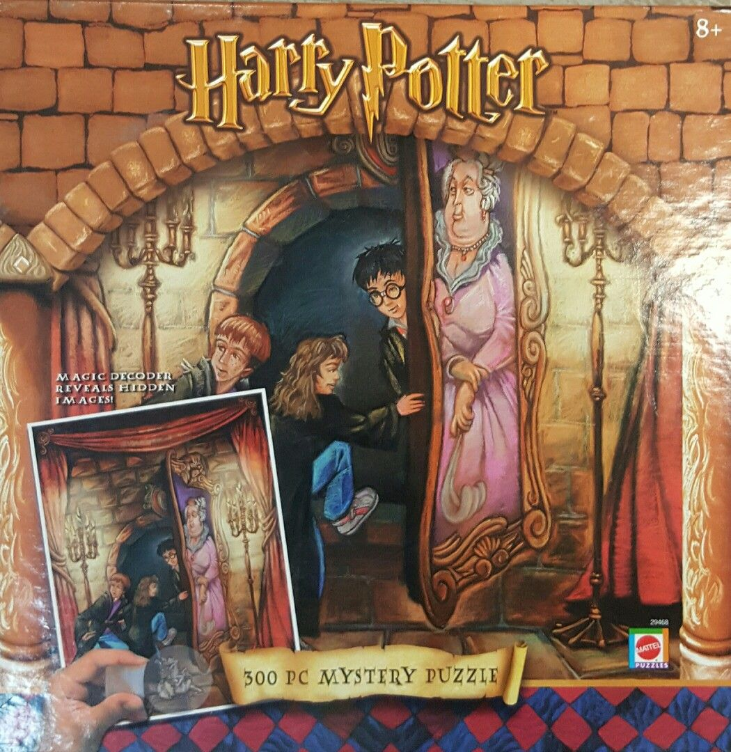 Harry Potter ~ 300 pc. Mystery Puzzle   Puzzles for all ages ...