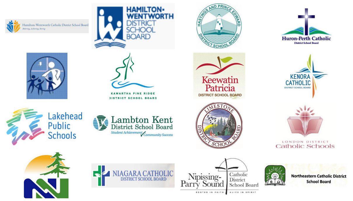 Tario School Board Logos