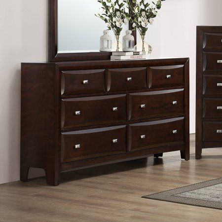Coaster Company Cloverdale Collection Dresser, Cappuccino, Brown