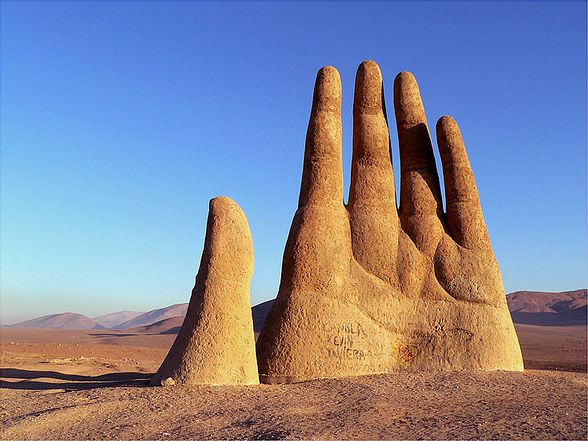 Image result for escultura sign atacama