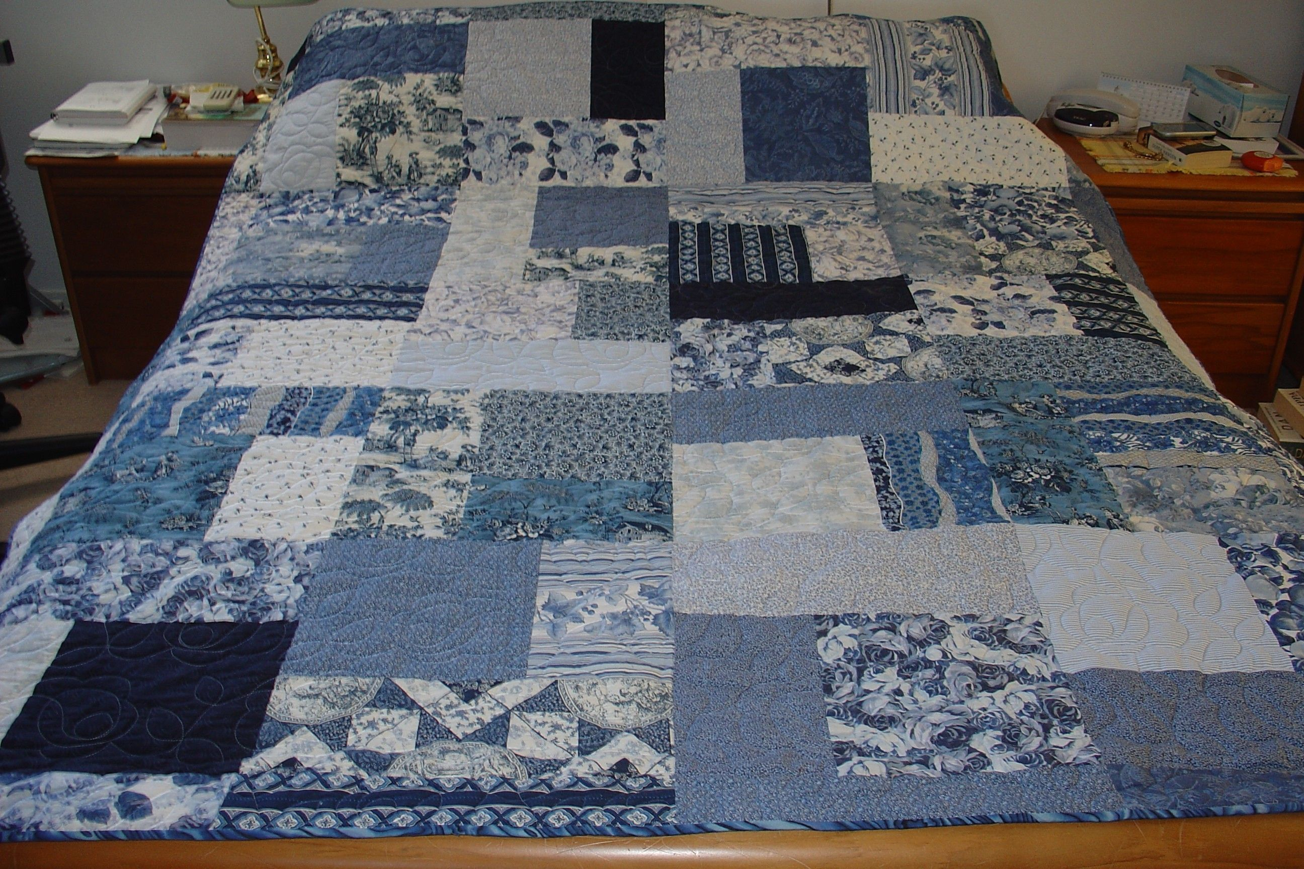 20 Traveling Blues Turning 20 Quilt Crafts I Want To
