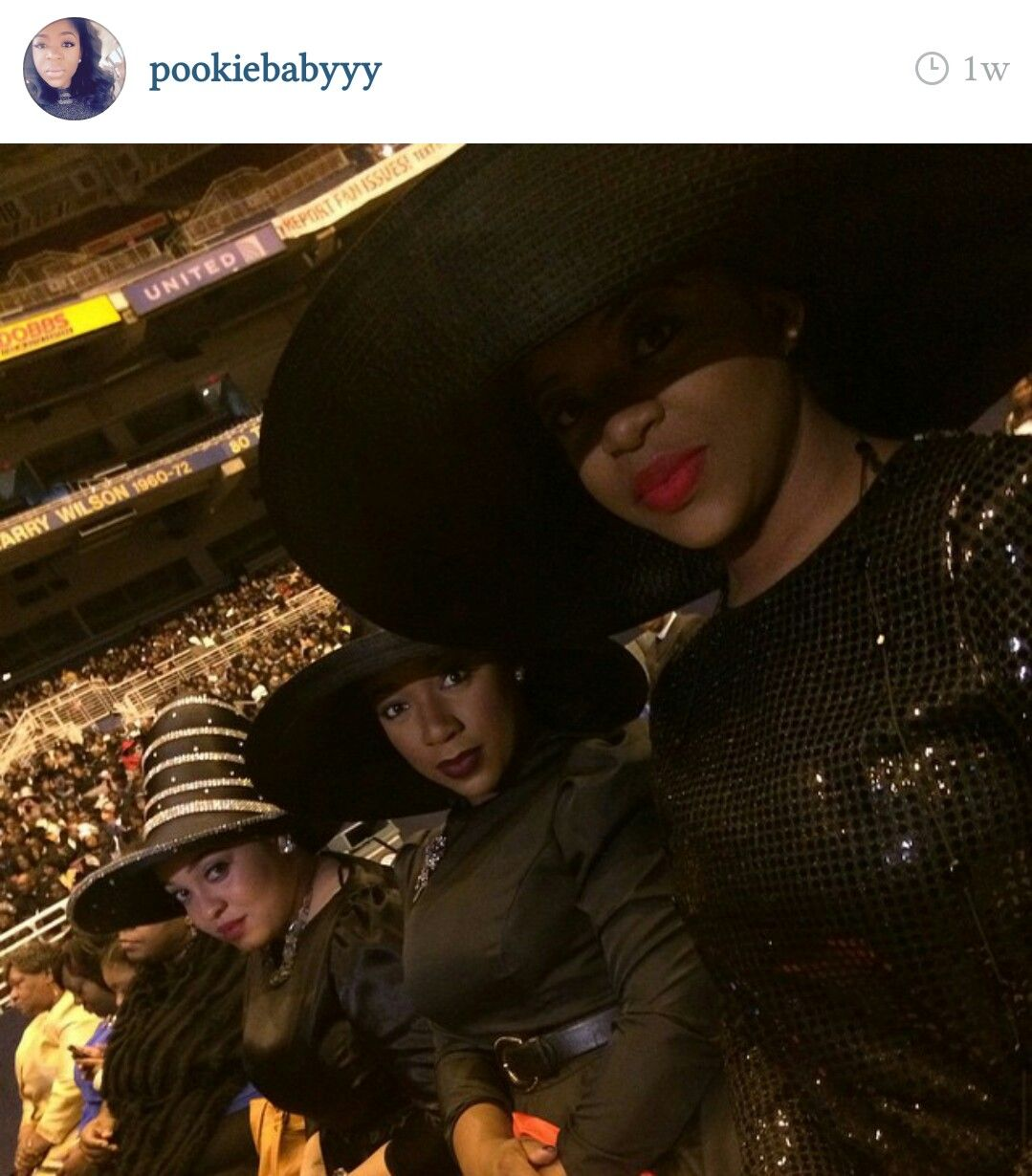 COGIC women in their Holy Convocation best  #millinary #ladieshats