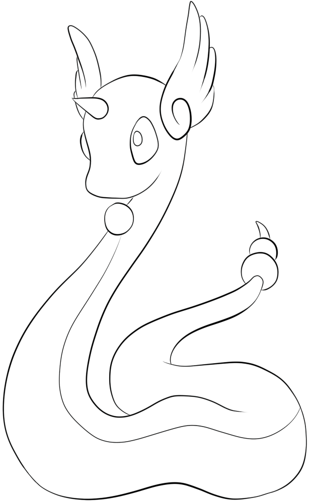 148 Dragonair Lineart By Lilly Gerbil On Deviantart Pokemon Coloring Pages Pokemon Coloring Pokemon Coloring Sheets