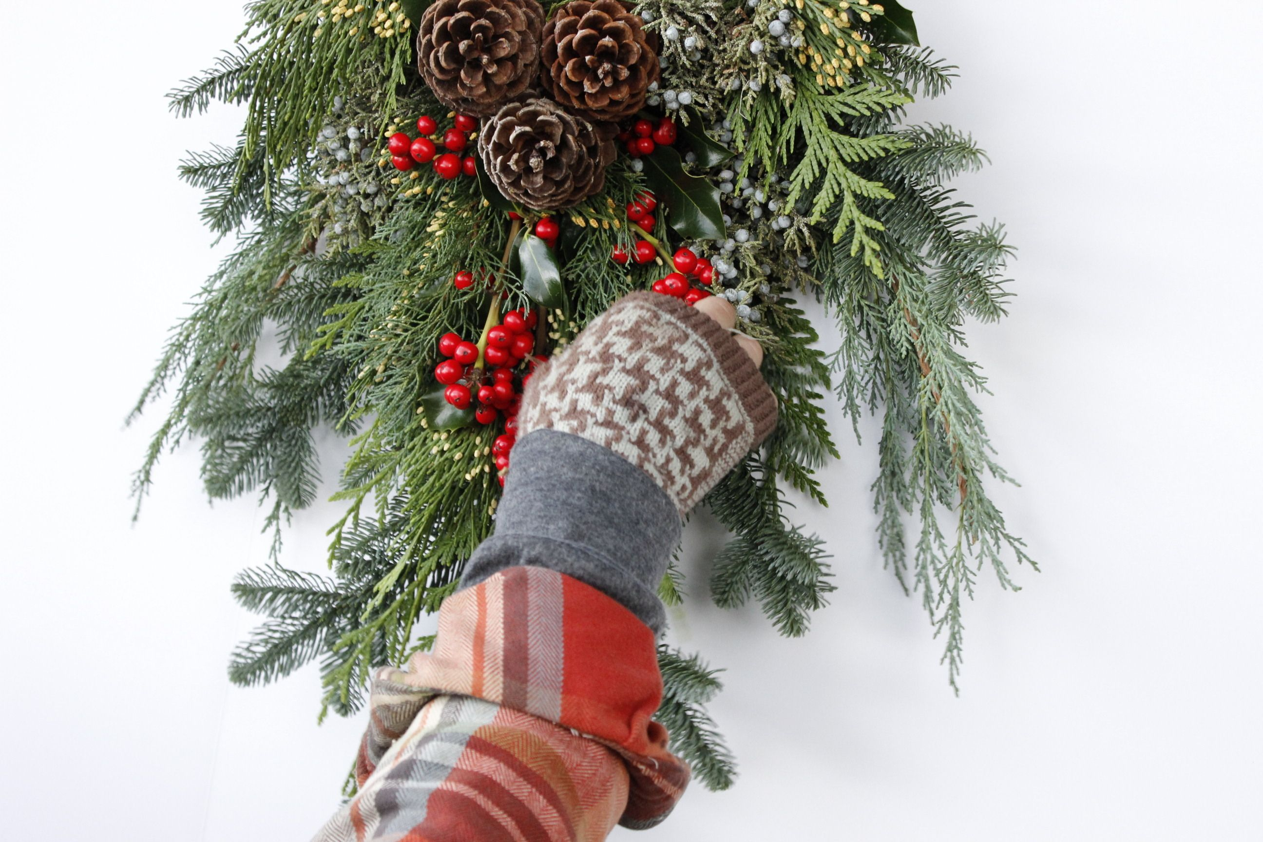 DIY Swag kit from Oregon Mountain Wreaths We provide