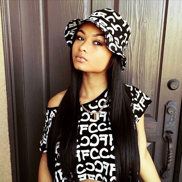 India westbrooks wcw straight hair pretty girl swag mixed chicks streetwear urban fashion style - Mixed girl swag ...