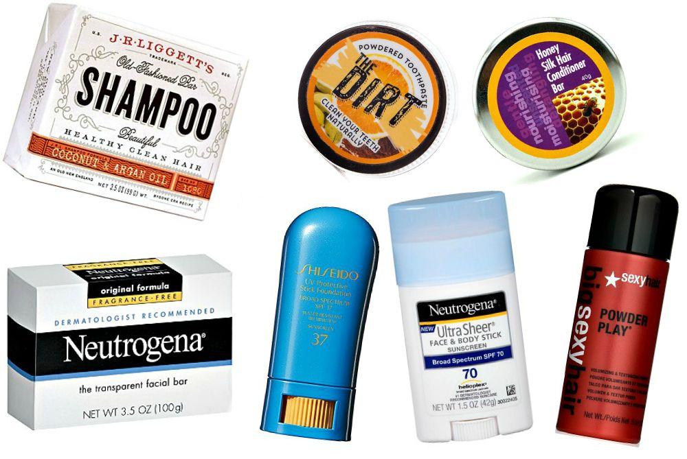 Solid Toiletries For Travel Forget Tsa Approved Liquids Packing Tips For Travel Travel Toiletries Hacks