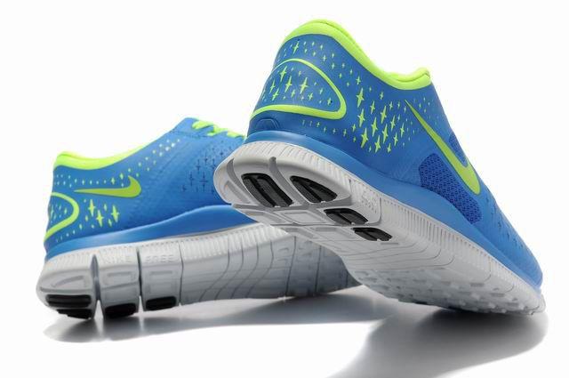 cute new york detailed look Damen Nike Free 4.0 V2 Schuhe Blau Grun   Nike, Nike free ...