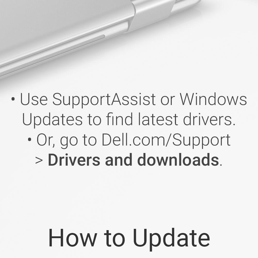 dell driver update check