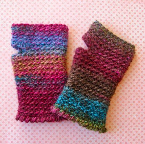 Labores en Red: 2043.- Crochet complementos: mitones | tejidos dos ...