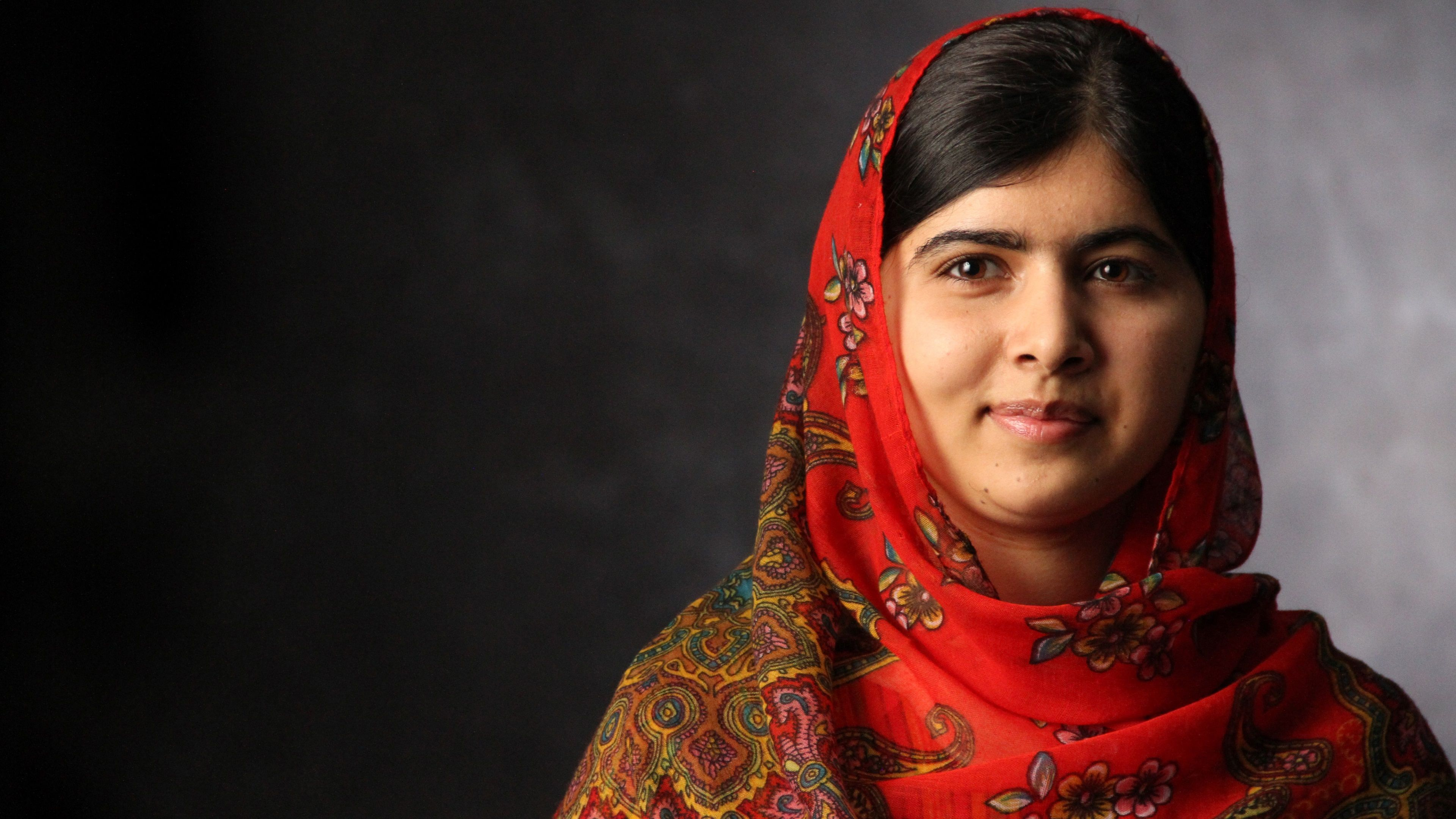 3840x2160 malala yousafzai 4k hd wallpaper