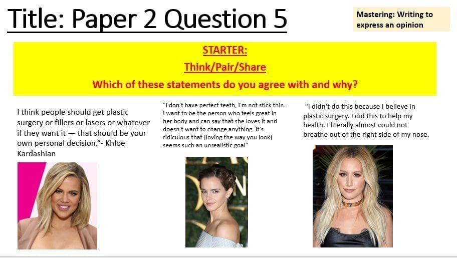 Argumentative essay with rebuttal