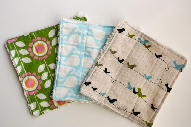 Zaaberry: Simple Washcloth Tutorial